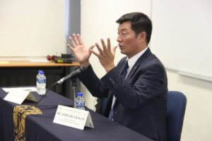 司政在墨西哥自立大学重申西藏问题