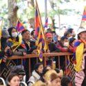 参加西藏自由抗暴六十一周年官方纪念活动的达兰萨拉藏人民众 2020年3月10日 照片/Tenzin Phende/CTA
